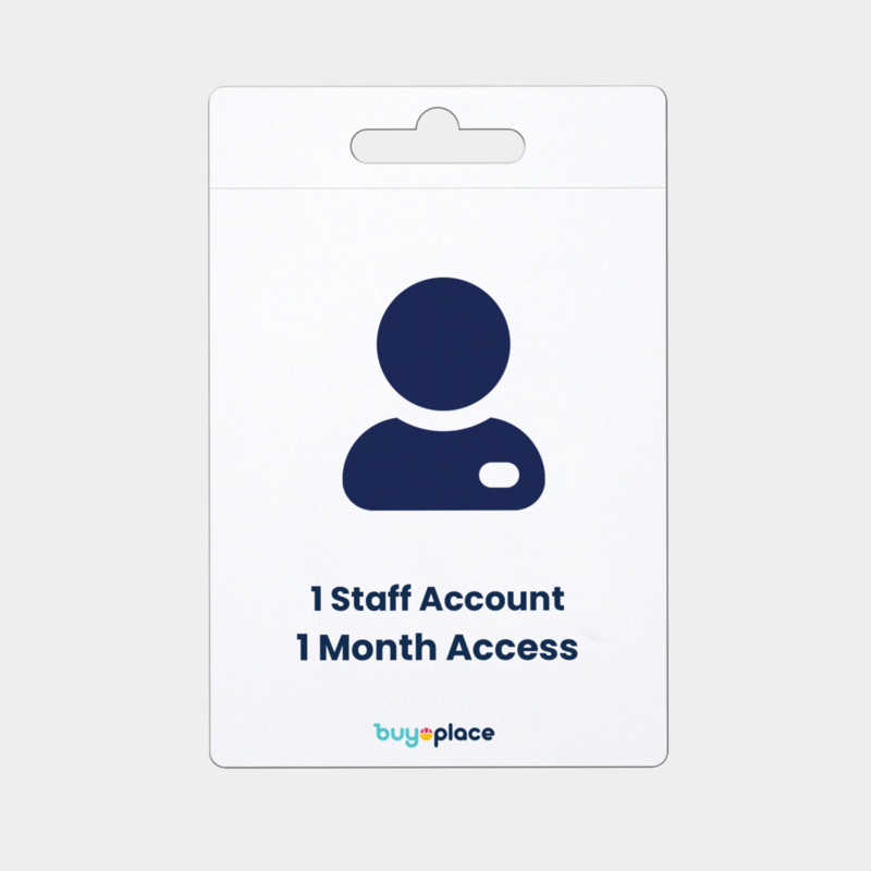 Store with staff 1 month access